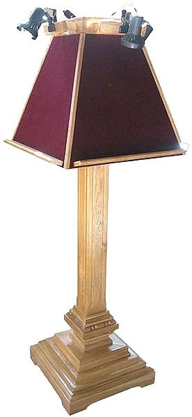 Round lectern no.2