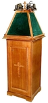 Round lectern no.9