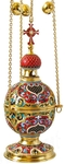 Censer no.2 (red enamel)
