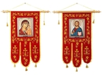 Church banners (gonfalon) -