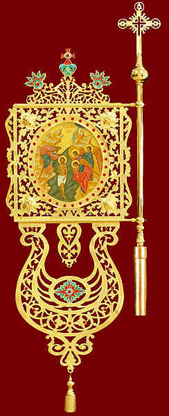 Church banners (gonfalon) no.19