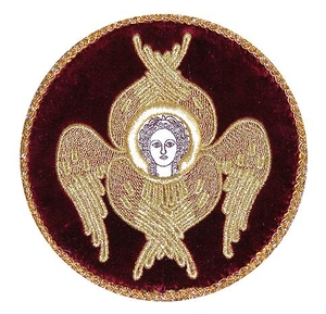 Chalice cover (round)