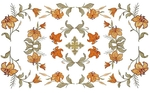 Embroidered chalice covers (veils) - Lily