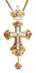 Pectoral chest cross no.75