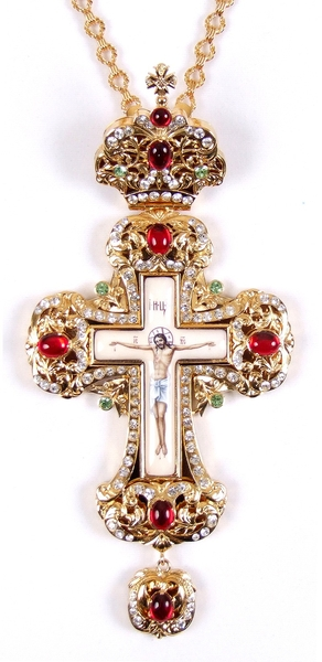 Pectoral chest cross no.7