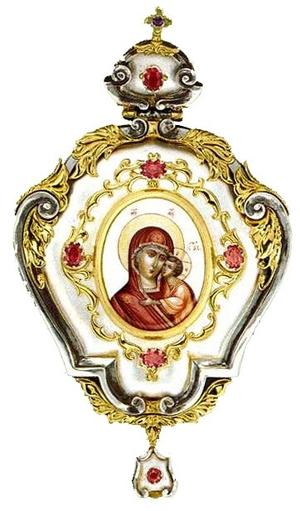 Bishop encolpion panagia - 4