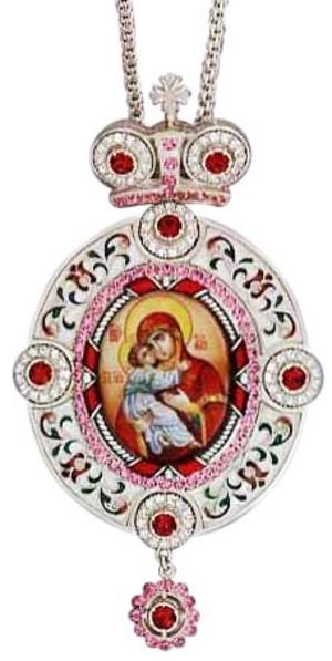 Bishop encolpion panagia - 35