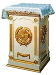 Church furniture: Holy oblation table - 12