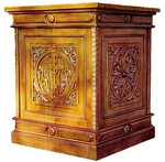 Church furniture: Transfiguration carved holy table