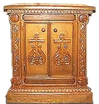 Church furniture: Theodorov carved holy table