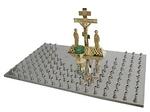 Panikhida memorial tray - 1 (106 candles)