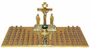 Panikhida memorial tray - 2 (106 candles)