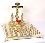 Panikhida memorial tray - 42 candles