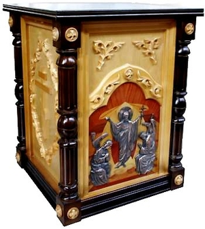 Church furniture: Oblation table no.1