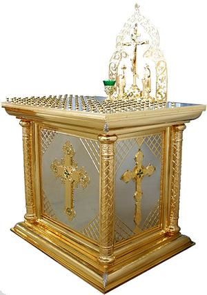 Panikhida table  - 16 (for 120 candles)