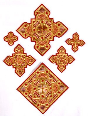 Ivanovo vestment crosses