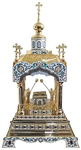 Orthodox  tabernacles: Tabernacle no.6a (filigree)
