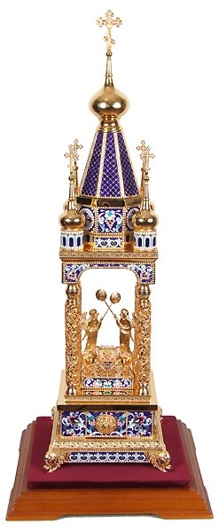Orthodox  tabernacles: Tabernacle no.9a (enamel)