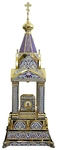 Orthodox  tabernacles: Tabernacle no.10 (enamel)