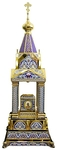 Orthodox  tabernacles: Tabernacle no.10a (enamel)