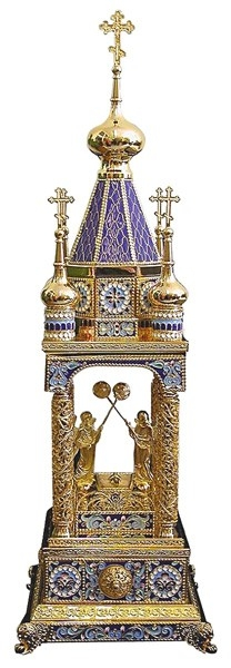 Orthodox  tabernacles: Tabernacle no.9b (enamel)