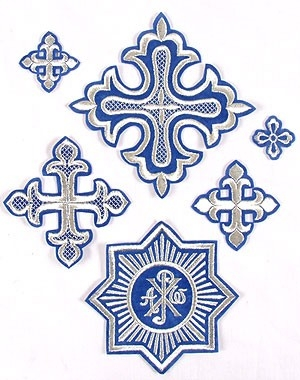 Gdov vestment crosses