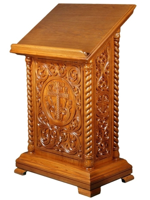 Church lecterns: Lavra-2 carved lectern (double)