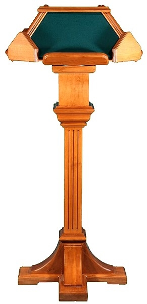 Church lecterns: Kliros simple lectern