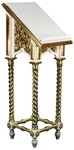 Church lecterns: Greek carved lectern -2