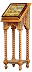 Church lecterns: Greek carved lectern