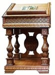 Church lecterns: Khoriv analogion