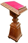 Church lecterns: Metokhion carved lectern