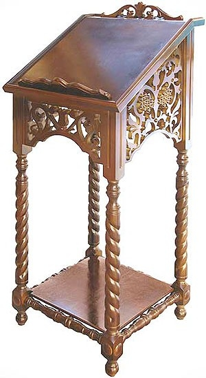 Church lecterns: Lectern no.2