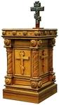 Church furniture: Panikhida table - 2
