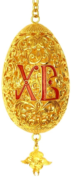 Paschal egg no.1 (hanging)