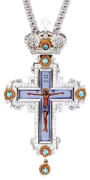 Pectoral chest cross - 74