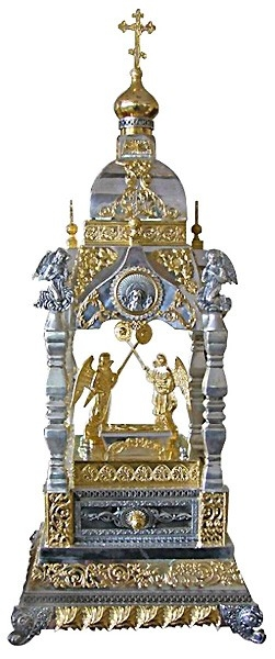 Jewelry tabernacles: Tabernacle no.11 (gold)