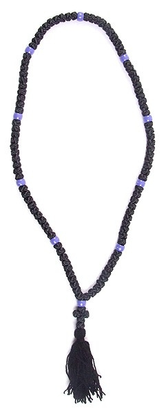 Orthodox prayer rope (chetki) - 100