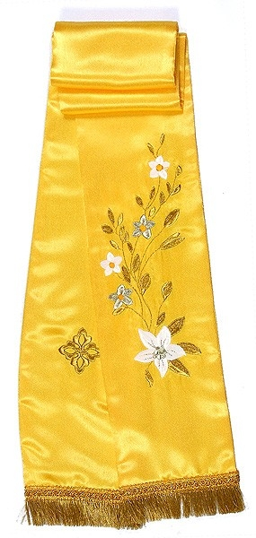 Embroidered bookmark Fashion