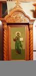 Church kiots: Diveevo carved icon case (kiot)
