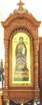 Church kiots: Beloozero carved icon case (kiot)