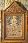 Church kiots: Balaam carved icon case (kiot) - 2
