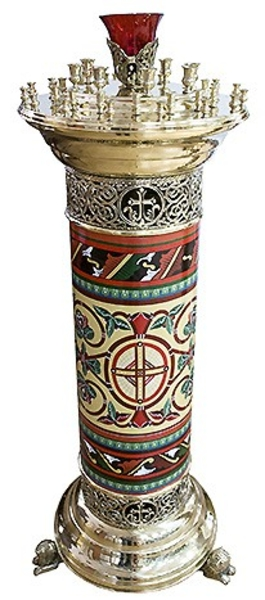 Floor church candle-stand - 7003