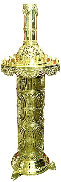 Floor church candle-stand - 762