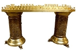Floor church candle-stand - 731-1