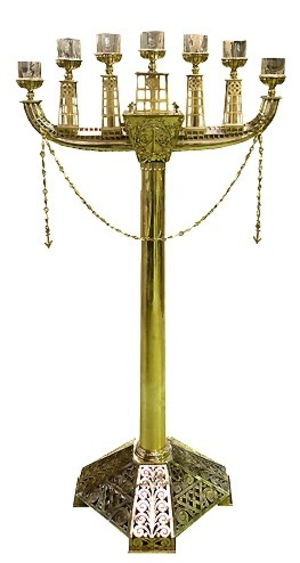 Seven-branch candelabrum -770
