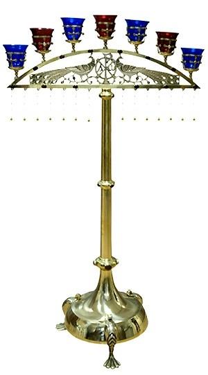Seven-branch candelabrum -768
