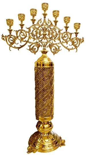 Seven-branch candelabrum -754