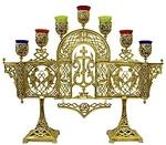 Seven-branch candelabrum -701