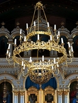 Orthodox Church three-level chandelier (39 lights)